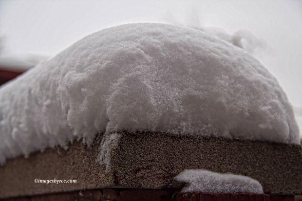 Snow on the Ledge