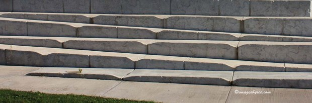 Just some ordinary concrete steps
